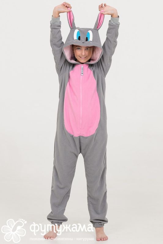 Пижама-кигуруми детская Кролик-PODAROQ.RU - Интернет-магазин ... e21e2ff416a99