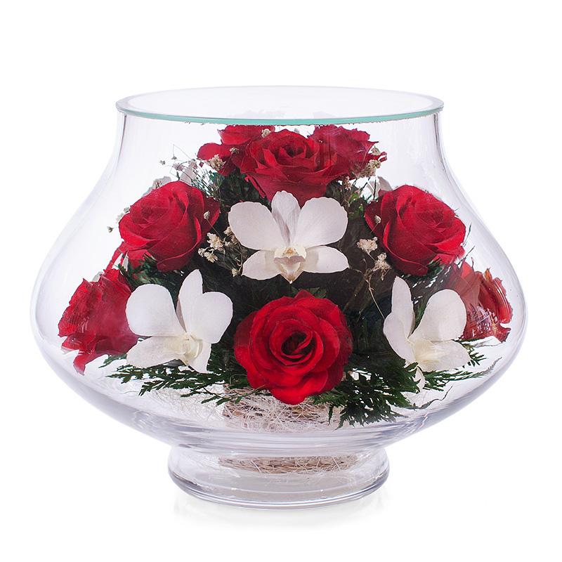 Композиции из цветов в подарок