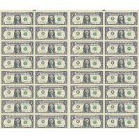 Неразрезанные доллары где хранятся деньги россии