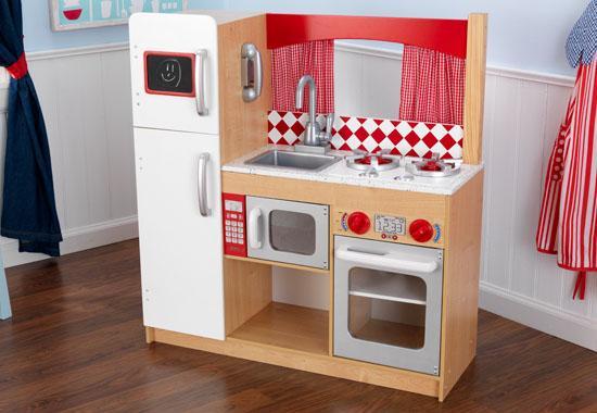 Кухня игрушечная и все для нее своими руками