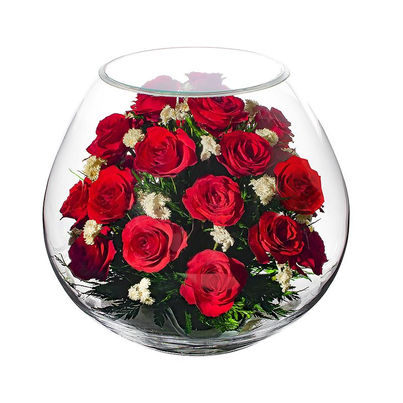 Букет роз невянущий синяк